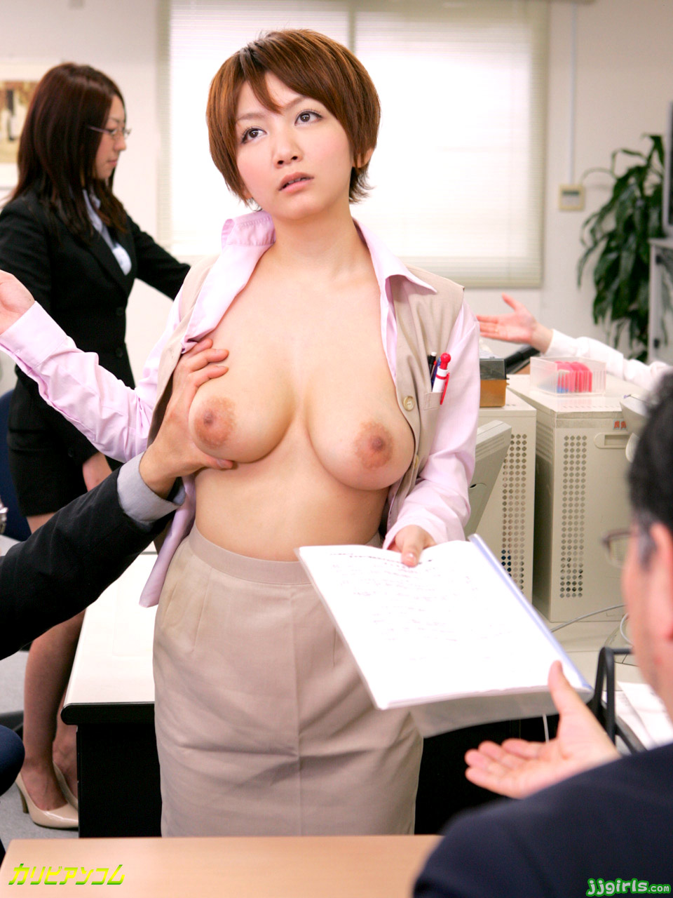 Mizushima ai fuck 2 holes to insert different cultures 9