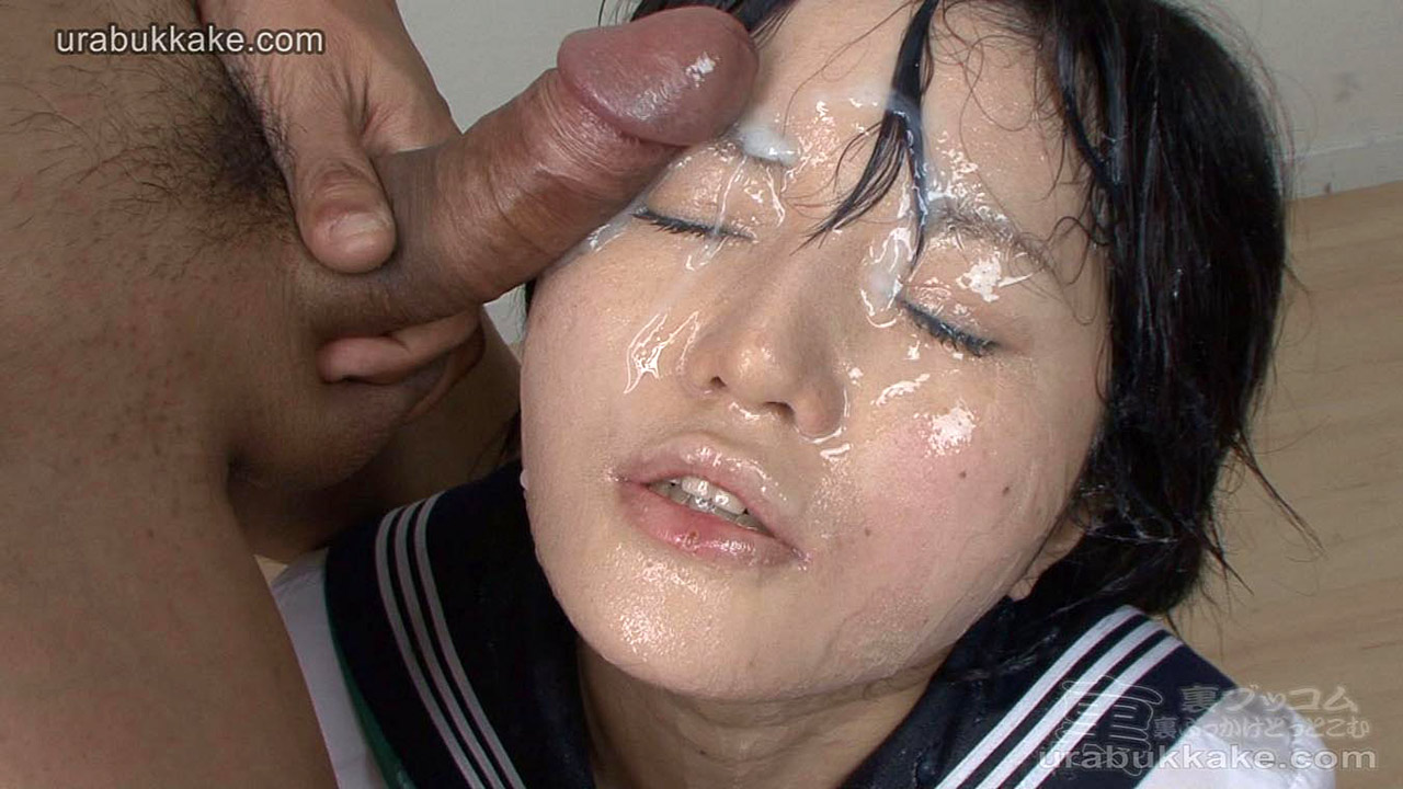 Japanese av blowjob bukkake kogal
